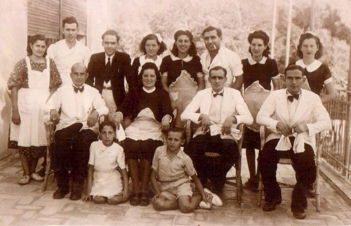 GRUP TREBALLADORS HOSTELERIA (ZONA ANDRATX) - 1930