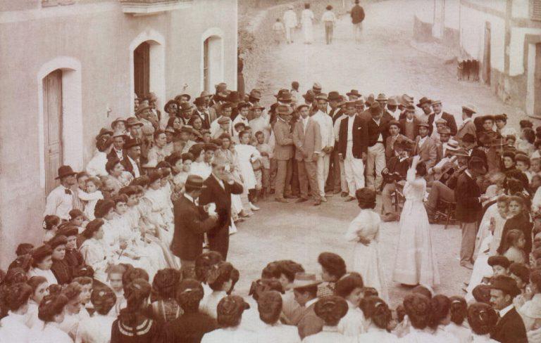 Grupo de baile – 1900