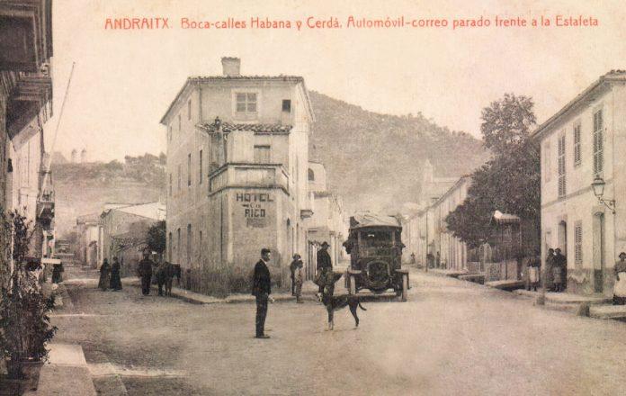 PAISAJE URBANO ANDRATX - 1925