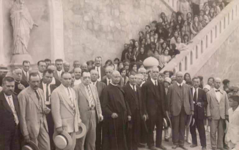 Inauguración parroquia Corazón de Jesús – 1926