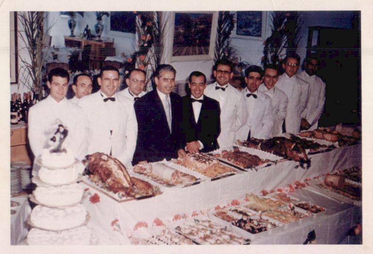 Banquete de boda – 1960