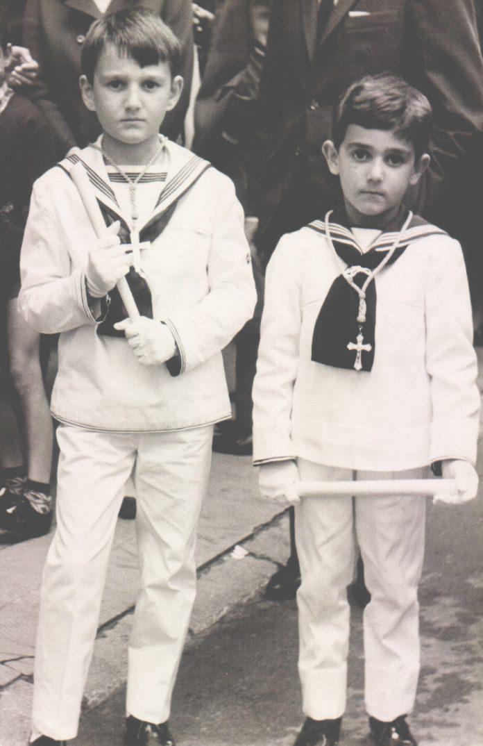 DOS NIÑOS COMUNION - 1968