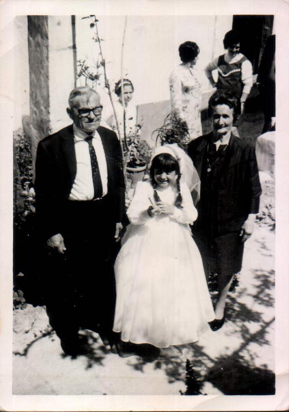 CON LOS ABUELOS - 1970