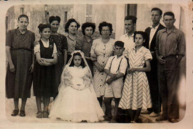 RECUERDO DE MI COMIUNION - 1947