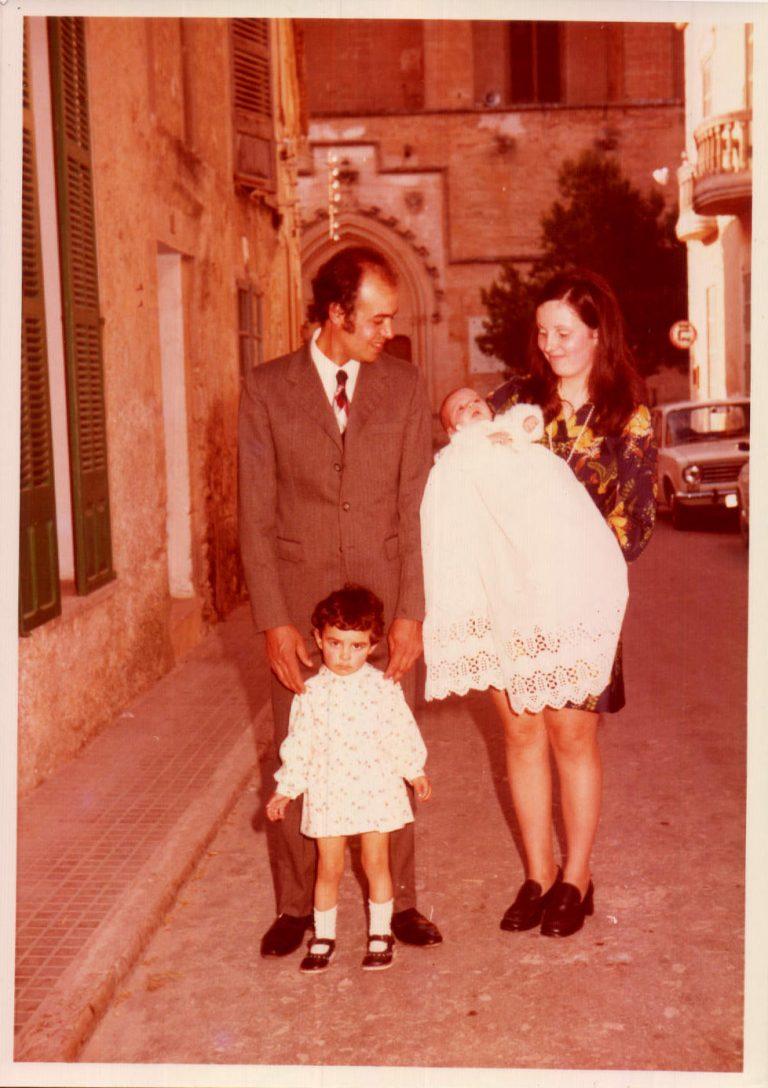 Bautizo hija – 1973
