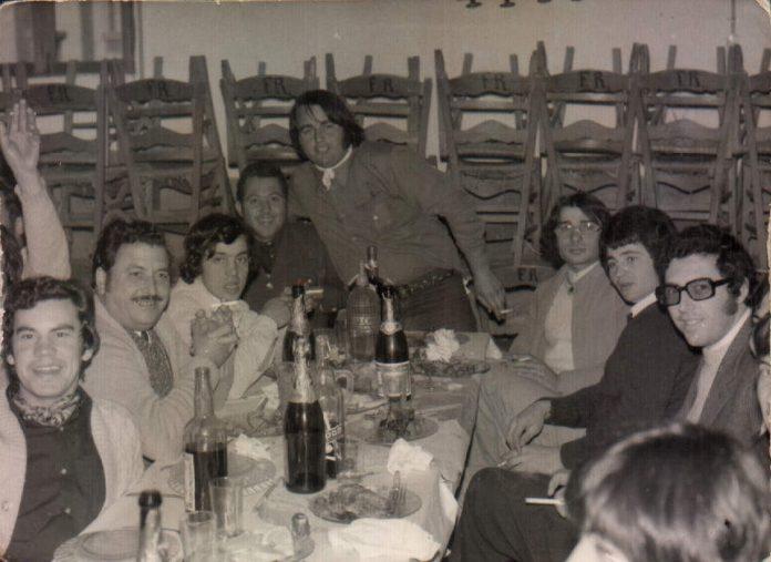CENA DE AMIGOS - 1972
