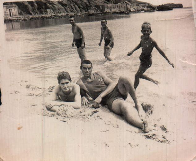 La playa (Melilla) – 1944