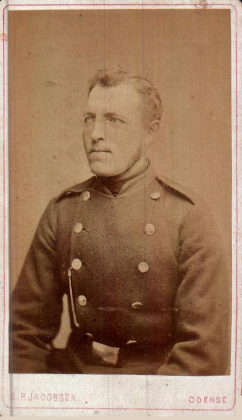 FOTO DE GENERAL ALEMAN - 1900