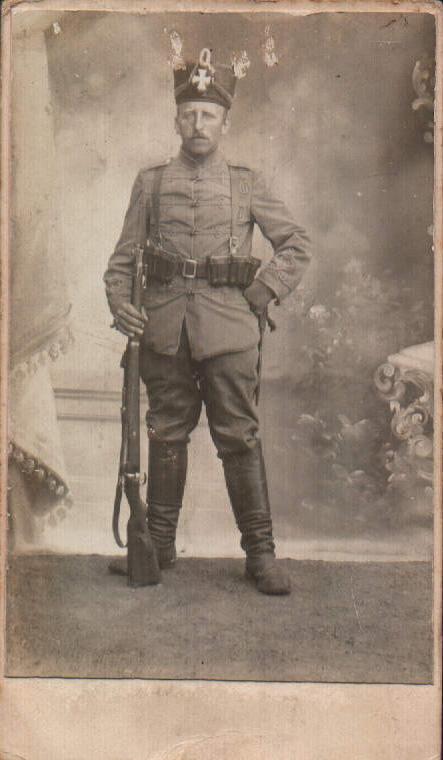 Soldado prusiano – 1900