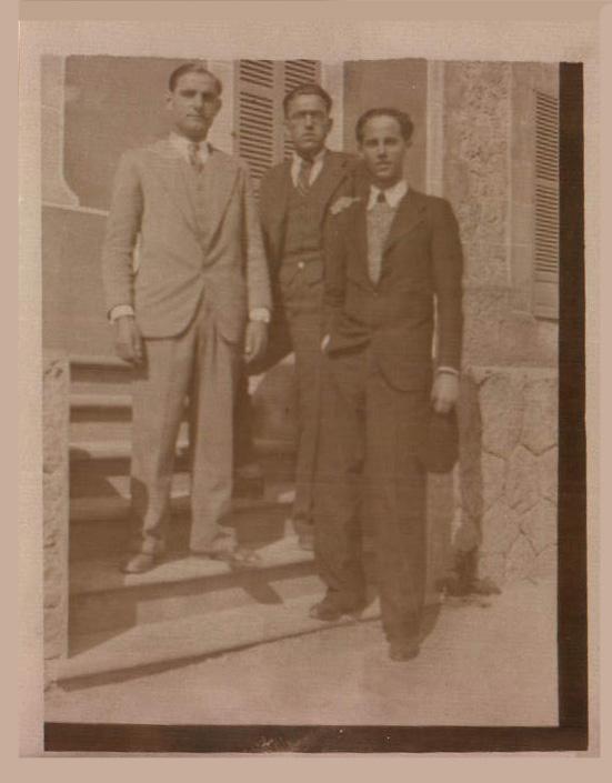 GRUPO AMIGOS - 1935