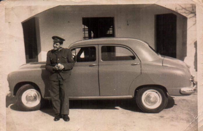 SERVICIO MILITAR SON BONET CHOFER - 1955