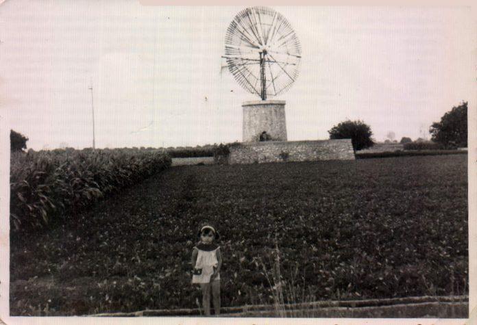 NIÑA Y MOLINO - 1964