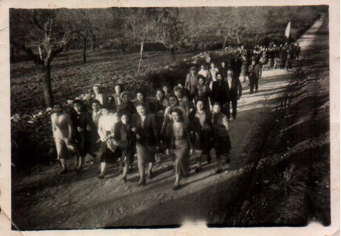 CARRETERA MONTISION - 1954