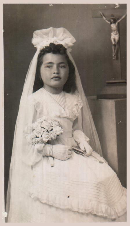 Primera comunió – 1944