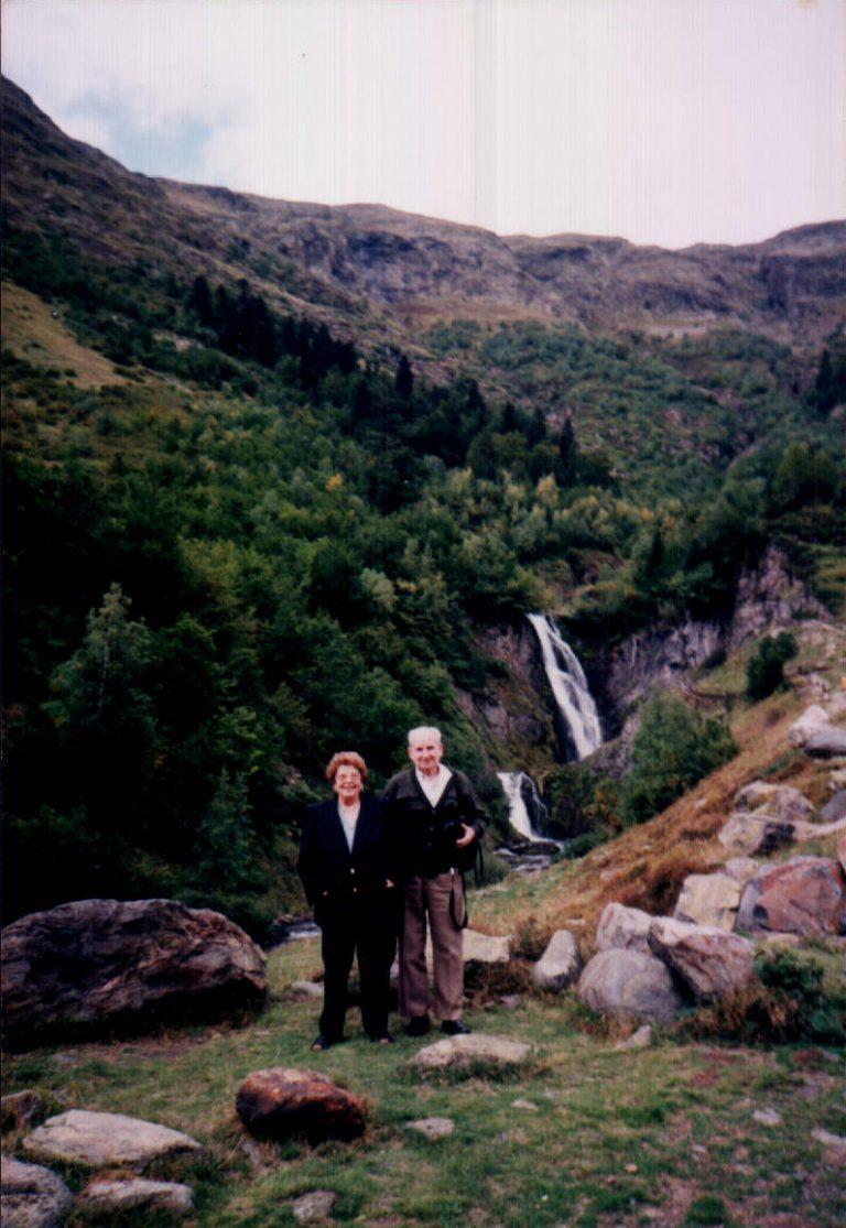 Mi mujer y yo (Pirineos catalanes) 1988