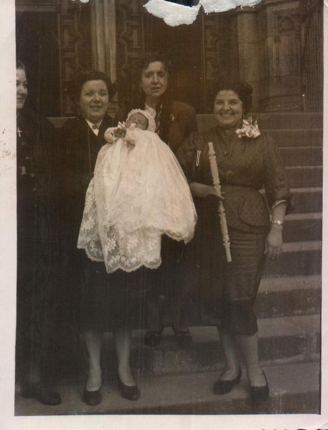 DE BAUTIZO - 1955