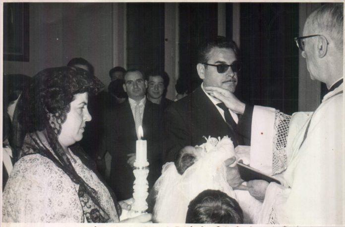 BAUTIZO DE MI NIETO - 1984