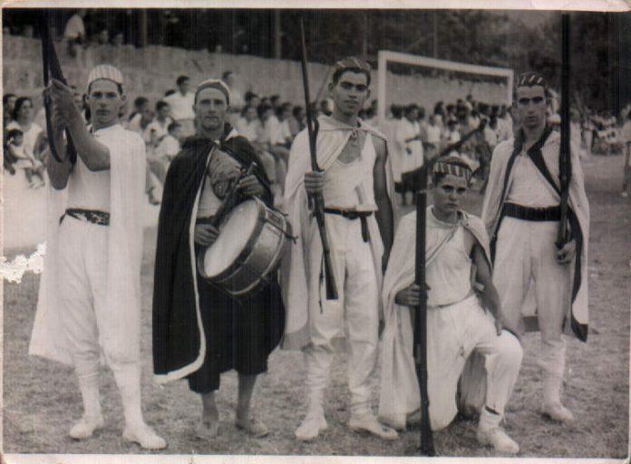 FESTA DES MOROS - 1954