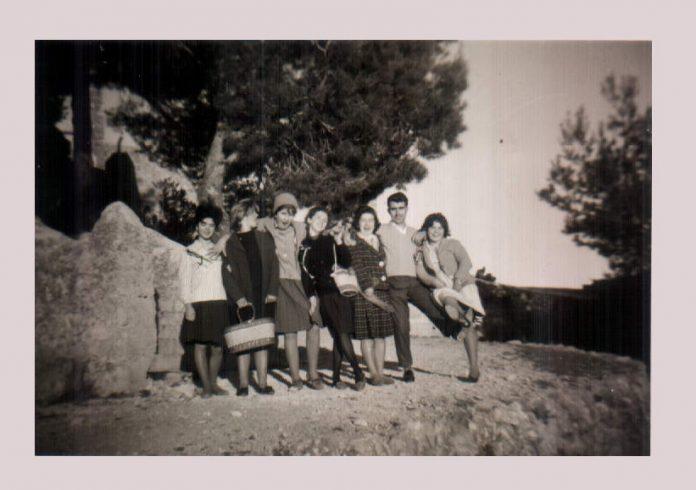 GRUPO AMIGOS EN EL PUIG - 1955