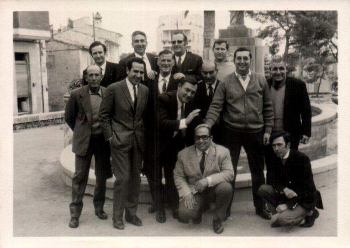 GRUPO AMIGOS TRABAJO - 1969