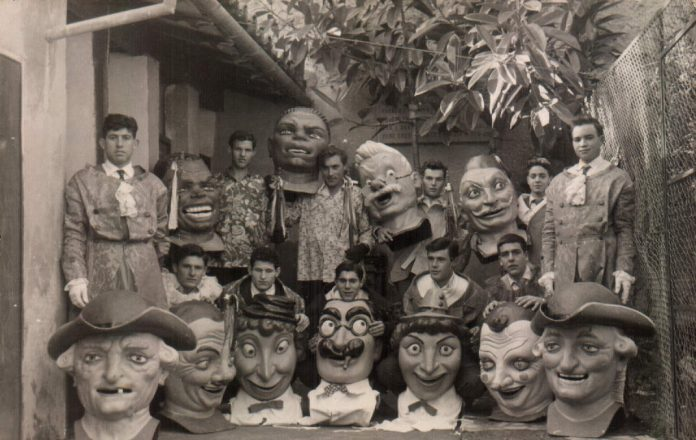 GRUPO CABEZONES - 1955