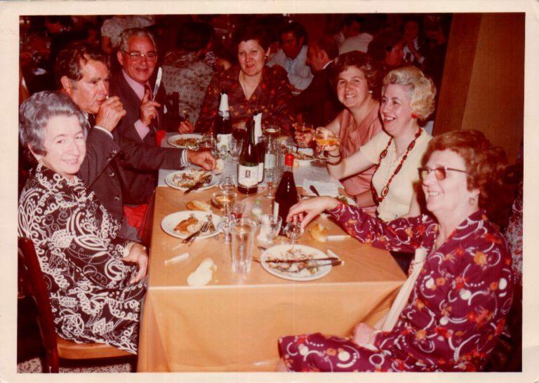 Grupo de amigos – 1976