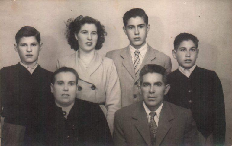 Grupo familiar – 1949