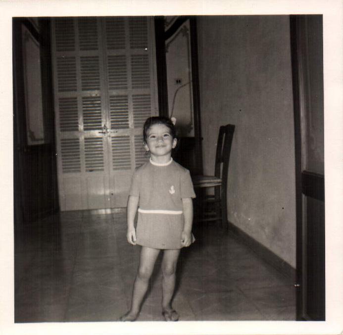 Con mi vetido nuevo (Porto Colom) 1973
