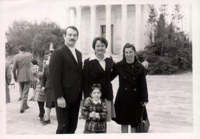 DE TURISMO CON MIS PAPIS Y MI TIA - 1975