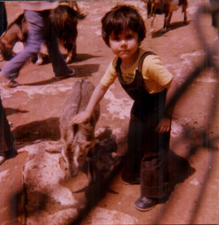 Nin al safari (Porto Cristo) 1978