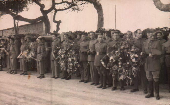 ENTERRAMENT MILITARS MORTS A LLUCALCARI (MENORCA) - 1953