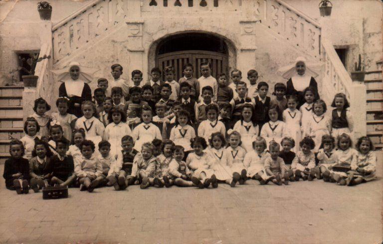 Al·lots escola Sant Josep (Maó) 1948