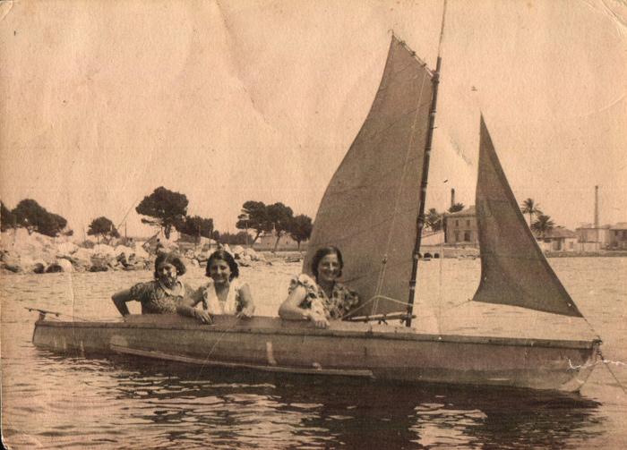 Amigues navegant – 1934
