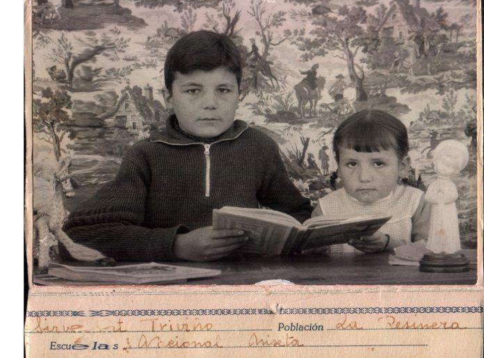 NIN I NINA (FOTO D´ESCOLA) - 1957
