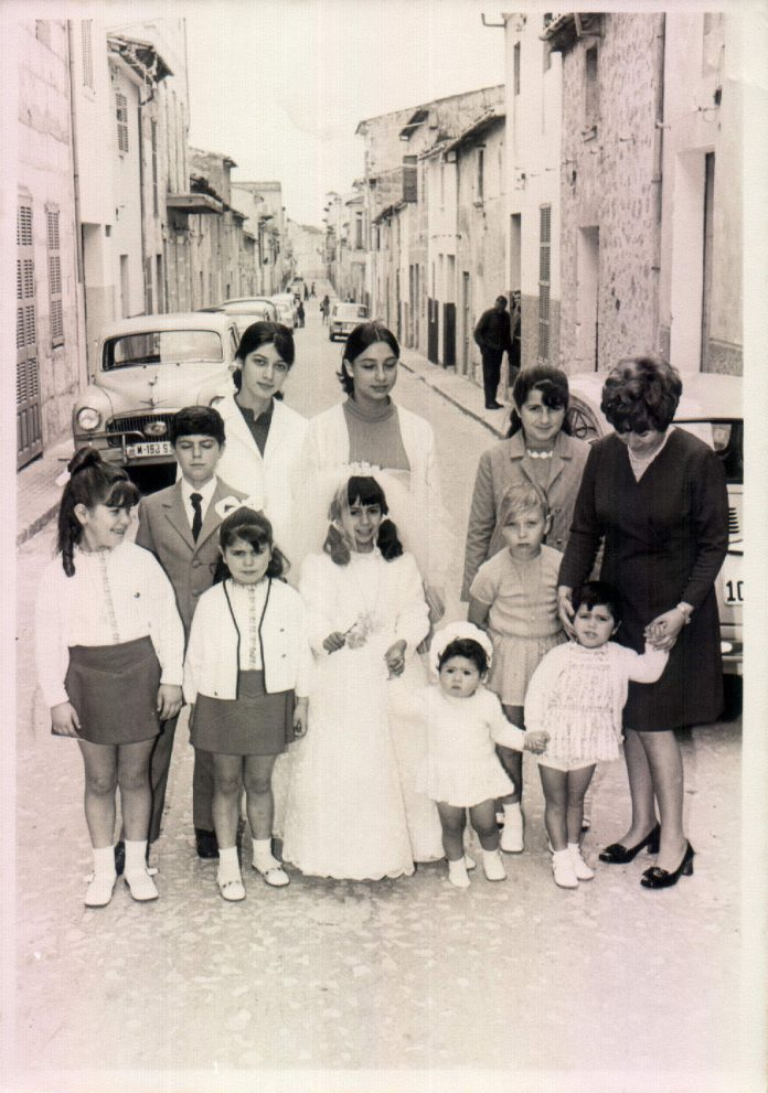 PRIMERA COMUNIO MITA - 1971