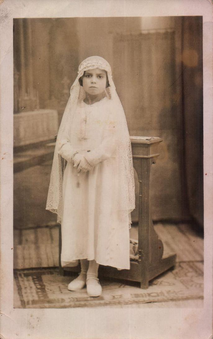 PRIMERA COMUNIO SALERO - 1936