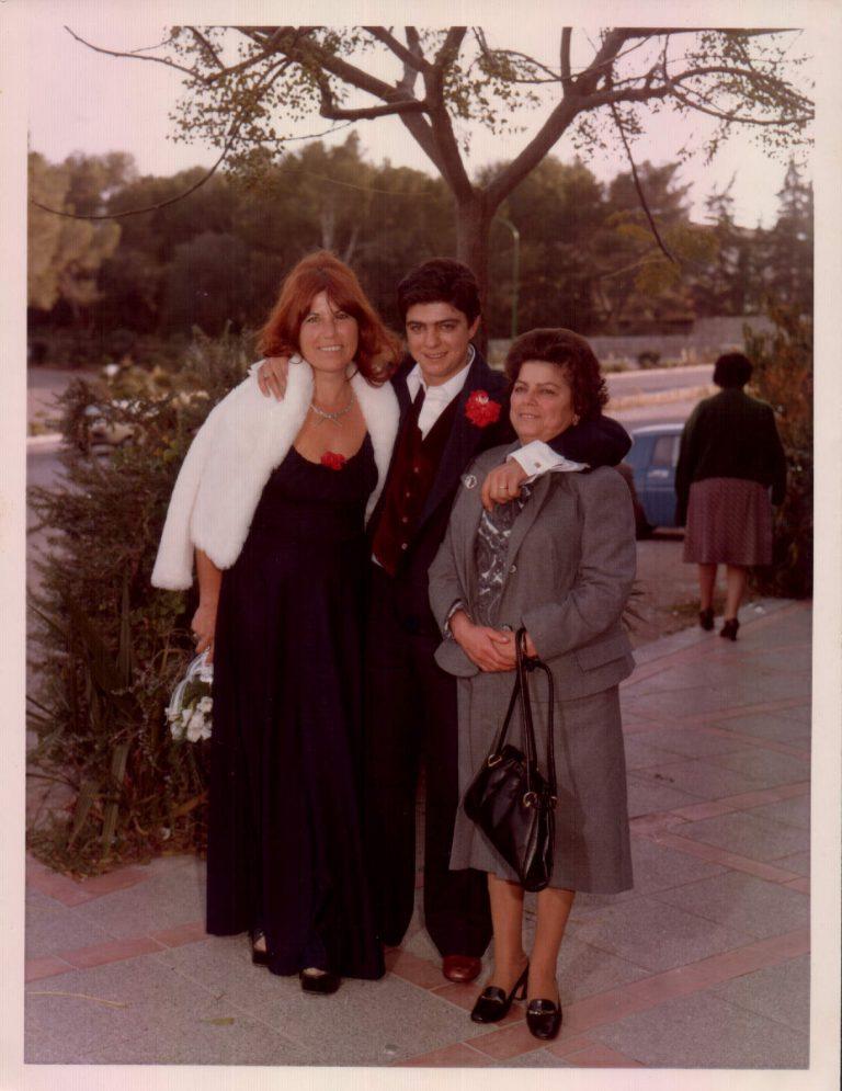 Boda padrina i Saleros (Porto Cristo) 1978