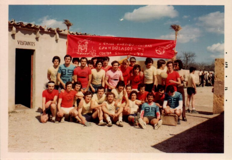 Partit futbol quintos 1952 – 1970