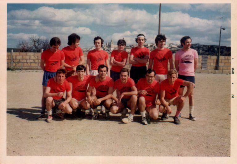 Equip futbol quintos 1952 – 1970