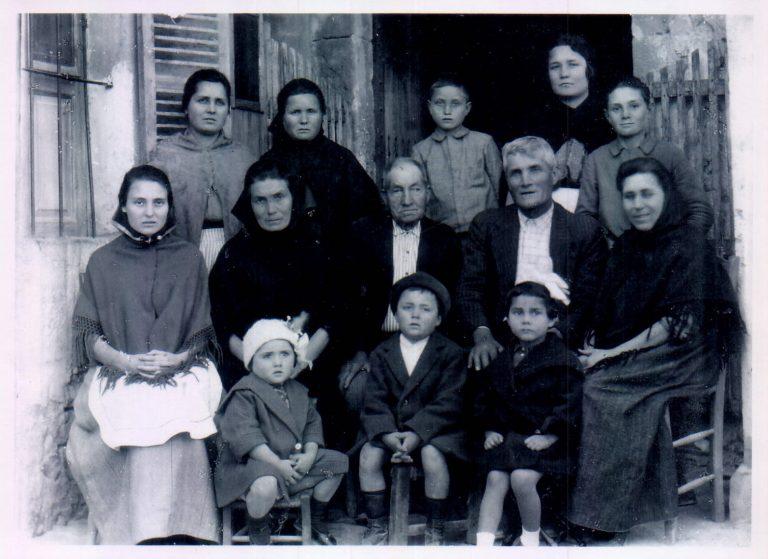 Grupo famililar – 1920