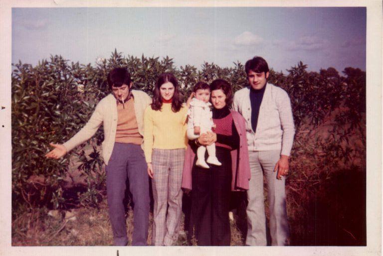 Família de ma mare – 1974
