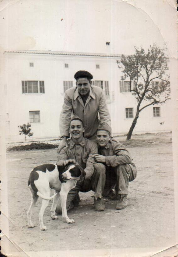 GRUPO SERVICIO MILITAR - 1955