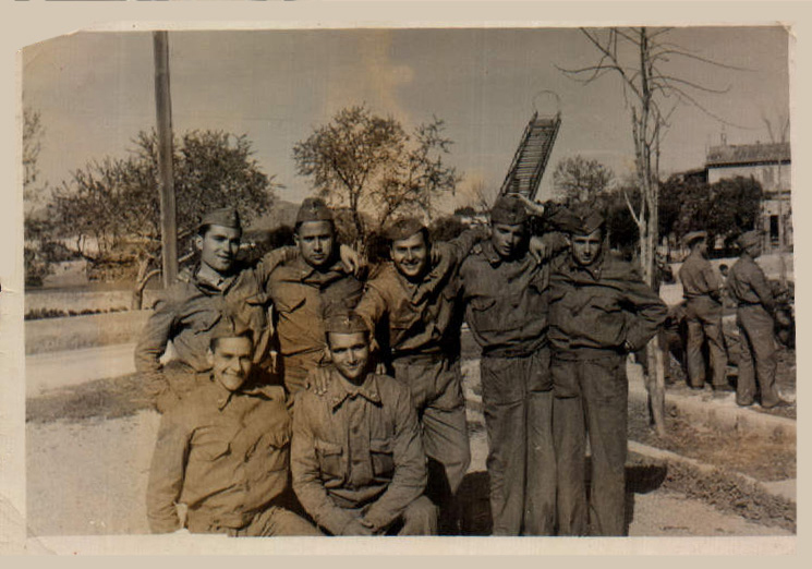 Grupo militares – 1936