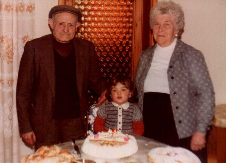 Segundo cumpleaños con bisabuelos de Pollença – 1979