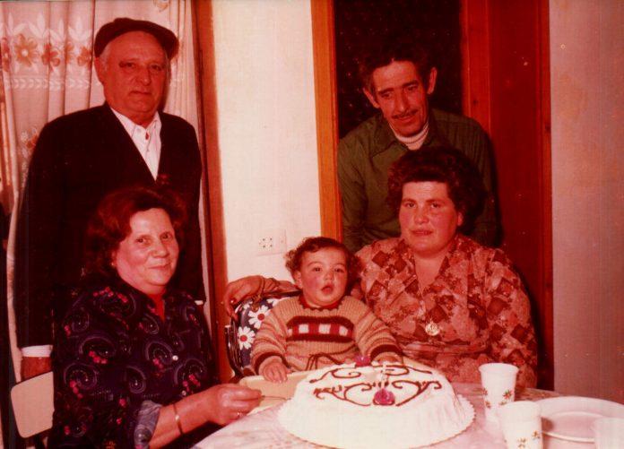 PRIMER ANIVERSARIO (ABUELOS) - 1978
