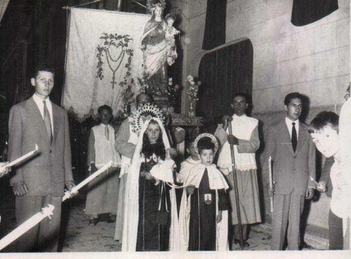 PROCESION PORRERES - 1955