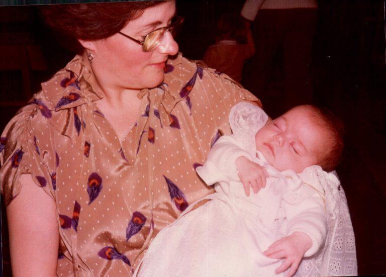Bautizo de mi hija en Porreres – 1978