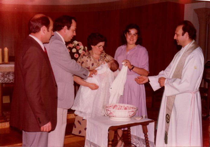 CON LOS PADRINOS - 1978