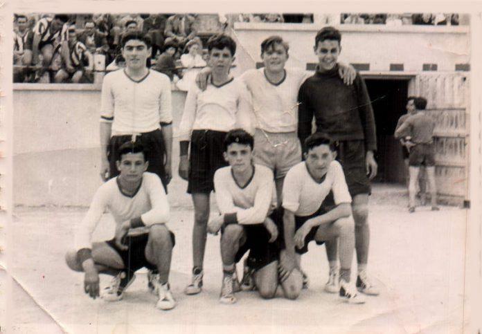 PARTIT DE FUTBOL - 1961