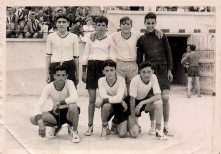Partit de futbol – 1961